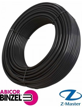 Шланг газовый (черный) 4,9х1,5 (бухта 100 м.)