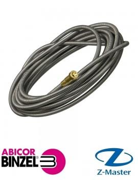 Направляющая спираль 1,5х4,5х3400 мм синяя (для пров D 0,6; 0,8 мм) RU Abicor Binzel (Абикор Бинцель)