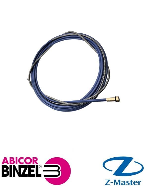 Направляющая спираль 1,5х4,5х5400 мм синяя (для пров D 0,6; 0,8 мм) RU Abicor Binzel