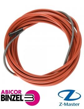 Направляющая спираль 2,0 мм 4,5 м RU красная (для пров D 1,0; 1,2 мм)