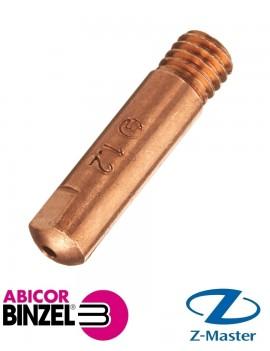 Сварочный токосъёмник E-Cu M6 /1,2 /D=6,0 /25 Abicor Binzel 140.0387