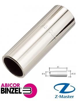 Cопло газовое цилиндрическое D 21/72 к сварочным горелкам Abimig Abicor Binzel