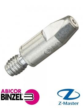 Контактный наконечник горелки М6/1,2 CuCrZr Abicor Binzel (Абикор Бинцель)