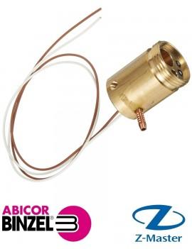 Разъем центральный ZL-2-2 радиальный (гнездо) Abicor Binzel (Абикор Бинцель)