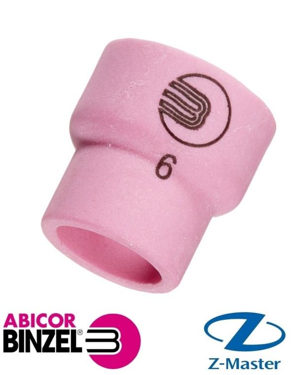 Керамическое сопло N 6  для сварочных горелок Abicor Binzel (Абикор Бинцель)