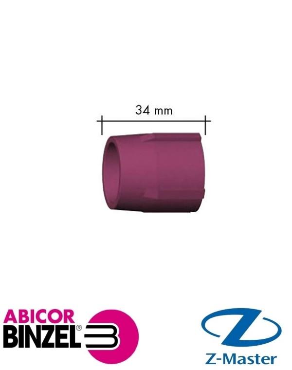 Сопло керамическое 34 мм размер 10 сварочной горелки Абикор Бинцель 701.1202