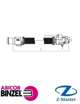 Шланговый пакет ABIROB W5H 1,35 м Abicor Binzel