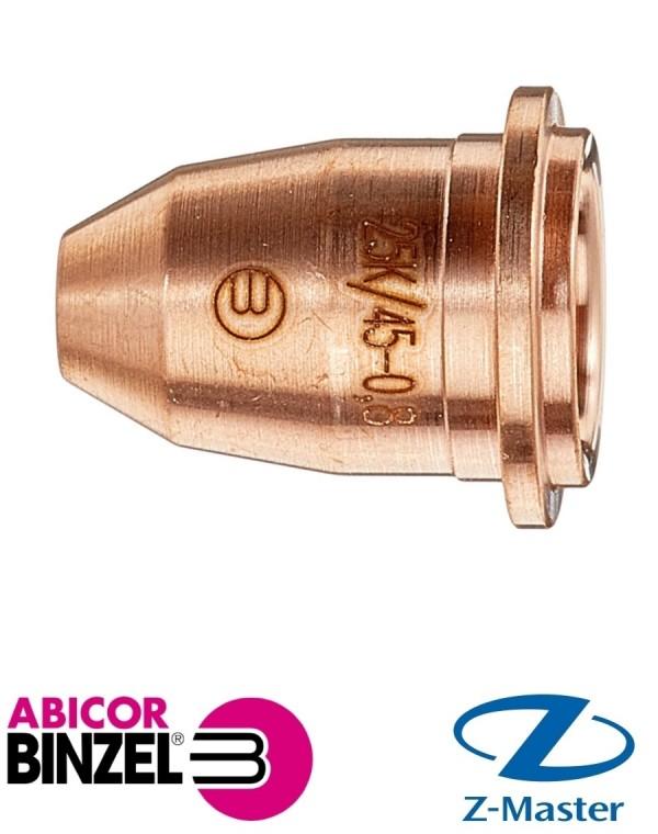 Сопло 0,8 ABICUT 25K/45 Abicor Binzel (Абикор Бинцель)