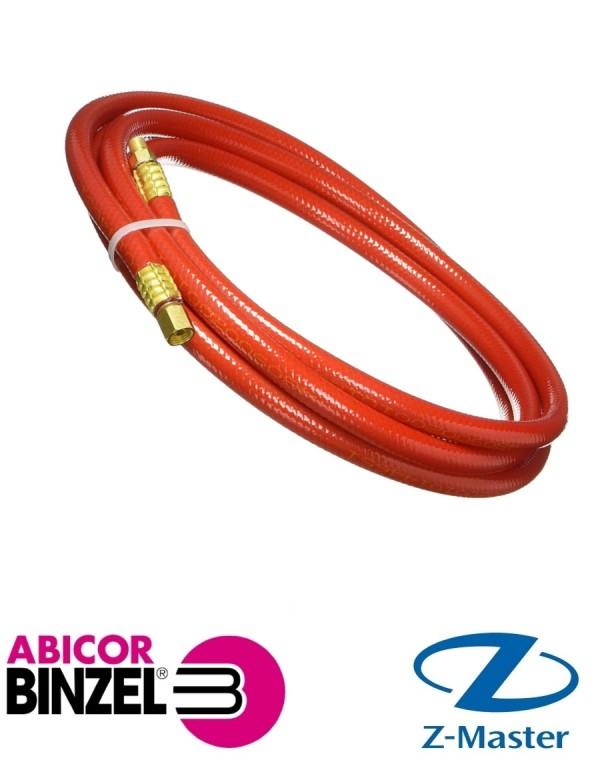 Шланг с вмонтированным кабелем 3м, красный Abicor Binzel (Абикор Бинцель)