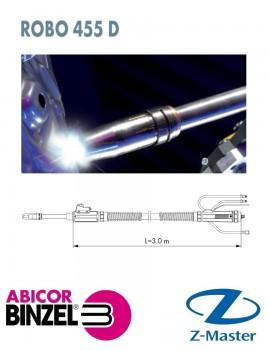 Горелка для роботизированной Сварки ROBO 455D M8 с прямым гусаком 3,00 м WZ-2