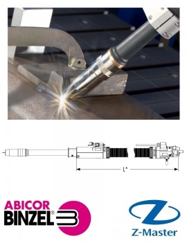 Горелка для сварки ROBO Compact W600 0 град. 1.60 м Euro W/B