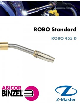 Гусак прямой сварочной горелки ROBO 455 D, Abicor Binzel