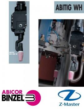 Гусак роботизированной сварочной горелки ABITIG WH 400 W, изгиб 70 градусов, Abicor Binzel