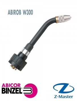 Гусак сварочной горелки ABIROB W300 с сенсором газового сопла, угол 45 гр., Abicor Binzel