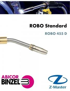 Гусак сварочной горелки ROBO 455 D, геометрия 45 градусов, Abicor Binzel