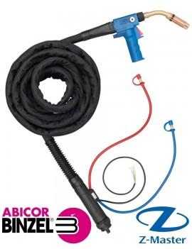 Горелка сварочная Push Pull Plus 401D гусак согнут 45 гр., 8 м 095.0101