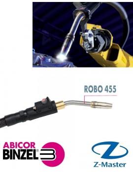 Сварочная горелка ROBO 455 M8 45 градусов, 2 м WZ-0