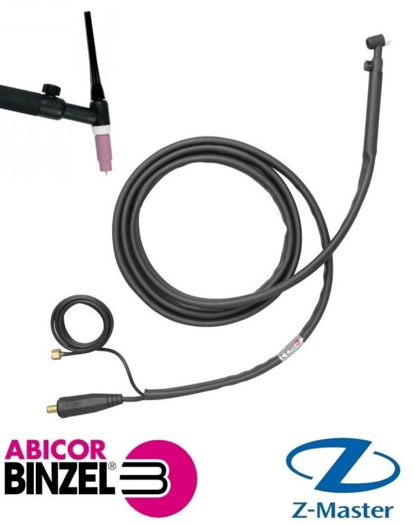 Сварочная горелка с вентилем ABITIG 17V 4м без КО, BSB 35-50 RU Abicor Binzel